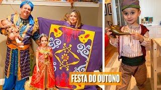 FAMÍLIA ALADDIN - FESTA A FANTASIA - FLÁVIA CALINA