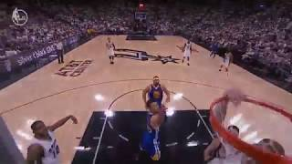 Davis Bertans Crazy Putback Slam! | Warriors vs Spurs | May 20, 2017 NBA Playoff 2017