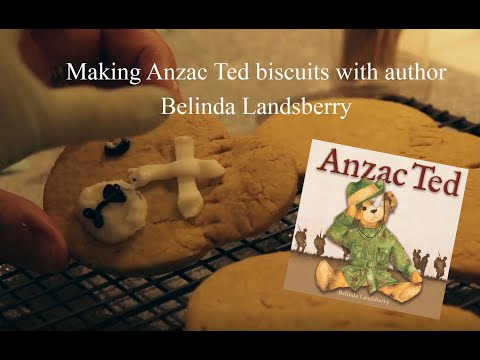 how-to-make-anzac-ted-biscuits-with-author-belinda-landsberry