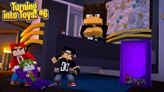 Іграшки Minecraft #6 - вкрасти хулігани улюблену іграшку!!
