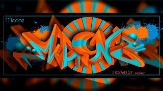 "Digital Graffiti ""MAONZ"" | Time Lapse"