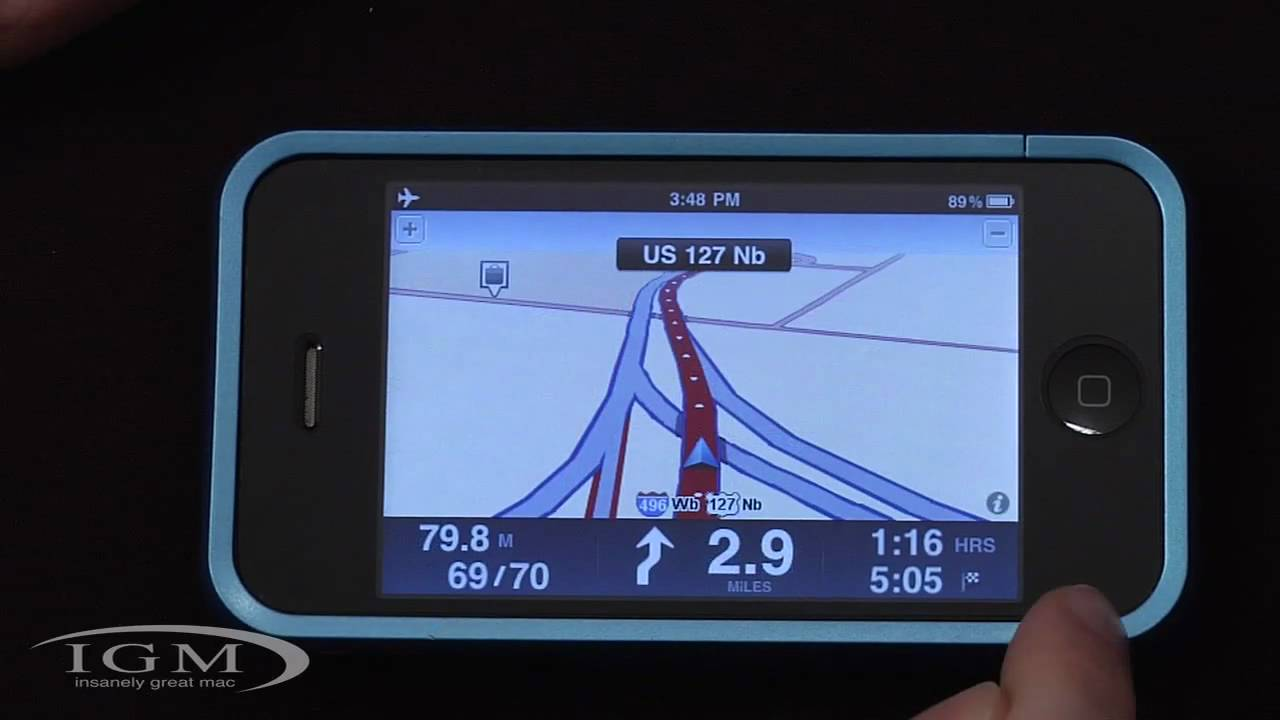 Review: TomTom GPS app for iPhone 3G/3GS (USA/Canada)