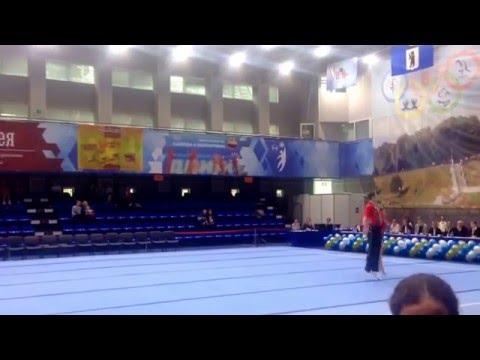 В КСК «Вознесенский» в Ярославле открылся Чемпионат ЦФО по спортивной акробатике