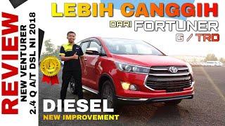 Explorasi NEW VENTURER DIESEL Lebih Bagus dari FORTUNER dengan New Improvement 2018 Toyota Indonesia
