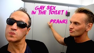 Gay Sex In The Toilet Prank !!