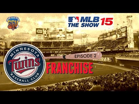 MLB 15 The Show (PS4) Minnesota Twins Franchise EP2 (Opening Day)