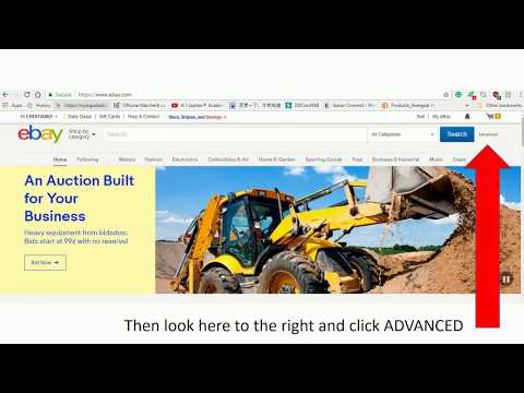 how to find seller contacts info on EBAY