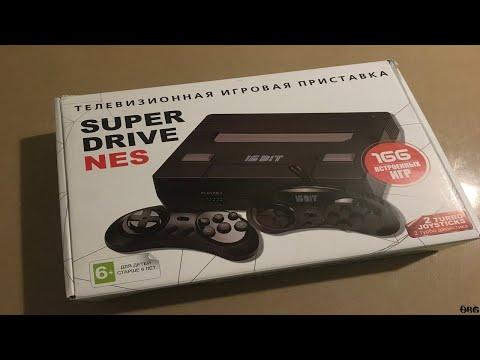"""Super Drive NES + 166 игр - """"Sega"""" с крутым названием!"""