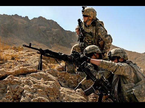 US Marines in Afghanistan Real Combat