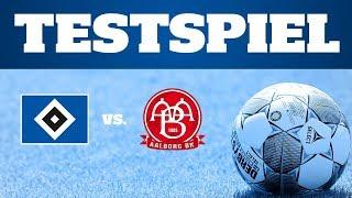RELIVE: Testspiel HSV vs. Aalborg BK