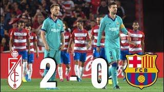 Granada vs Barcelona [2-0], La Liga 2019/20 - MATCH REVIEW