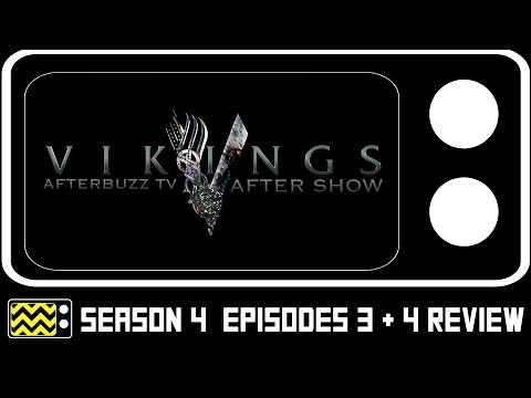 Vikings Season 1 Episodes 3 & 4 Review & After Show | AfterBuzz TV