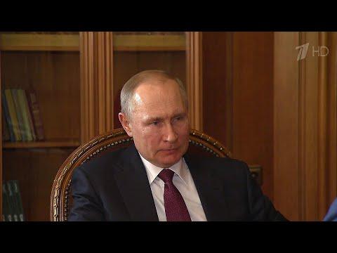 Михаил Развожаев доложил Владимиру Путину о борьбе с коронавирусом в Севастополе.