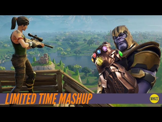 00 21 fortnite thanos infinity gauntlet limited time fortnite mashup - fortnite limited time mashup