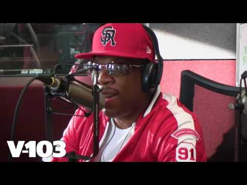 "Bell Biv DeVoe ""BBD"" in The V-103 Studio! The RCMS w/ Wanda Smith"