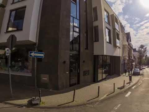 Die Kreuzung Schlossstraße / Nikolausstraße