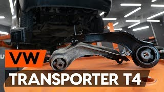 How to change Motor mount on VW TRANSPORTER IV Bus (70XB, 70XC, 7DB, 7DW) - online free video