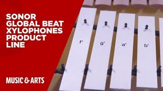 Sonor Global Beat Xylophones Product Line