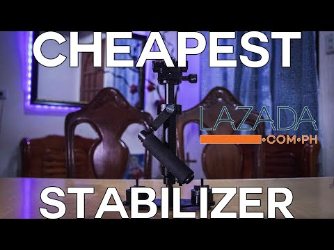 S40 Stabilizer - Cheapest Stabilizer From LAZADA - Unboxing (2019)