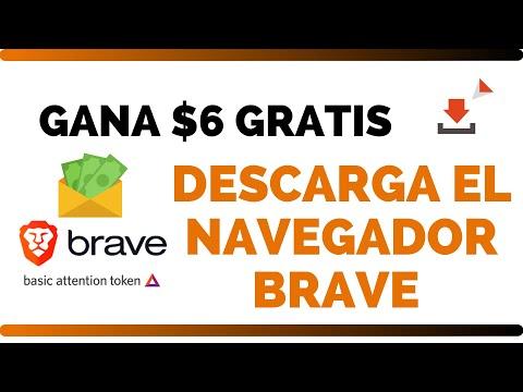 ✅BRAVE EL MEJOR NAVEGADOR 2018 ¡GANA 6 DOLARES GRATIS!��