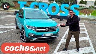 Volkswagen T-Cross 2019 SUV | Primera prueba / Test / Review en español | coches.net thumbnail