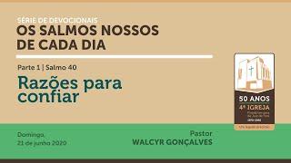 OS SALMOS NOSSOS DE CADA DIA | parte 1