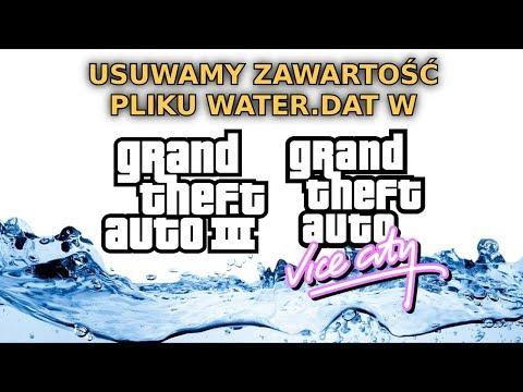 Co się stanie, jeśli usuniemy zawartość pliku water.dat w GTA 3 i Vice City?