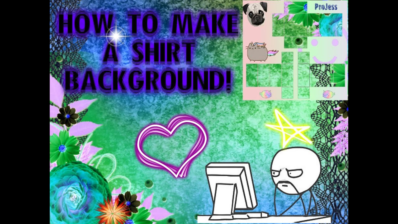 how to make a roblox shirt background with paint net