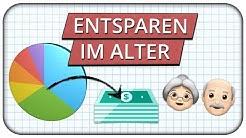 Wie Entsparen? Desinvestitionsstrategien für Aktien oder ETF Portfolio im Alter - Bsp. Entnahmeplan