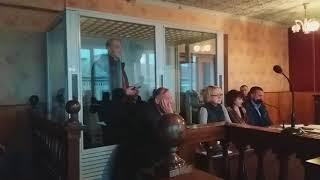 Допит підозрюваного в організації вбивства громадського активіста Віталія Ващенка