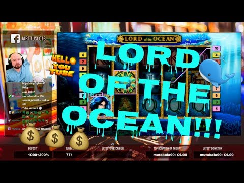 Big Bet!! Big Win From Lord Of The Ocean!!