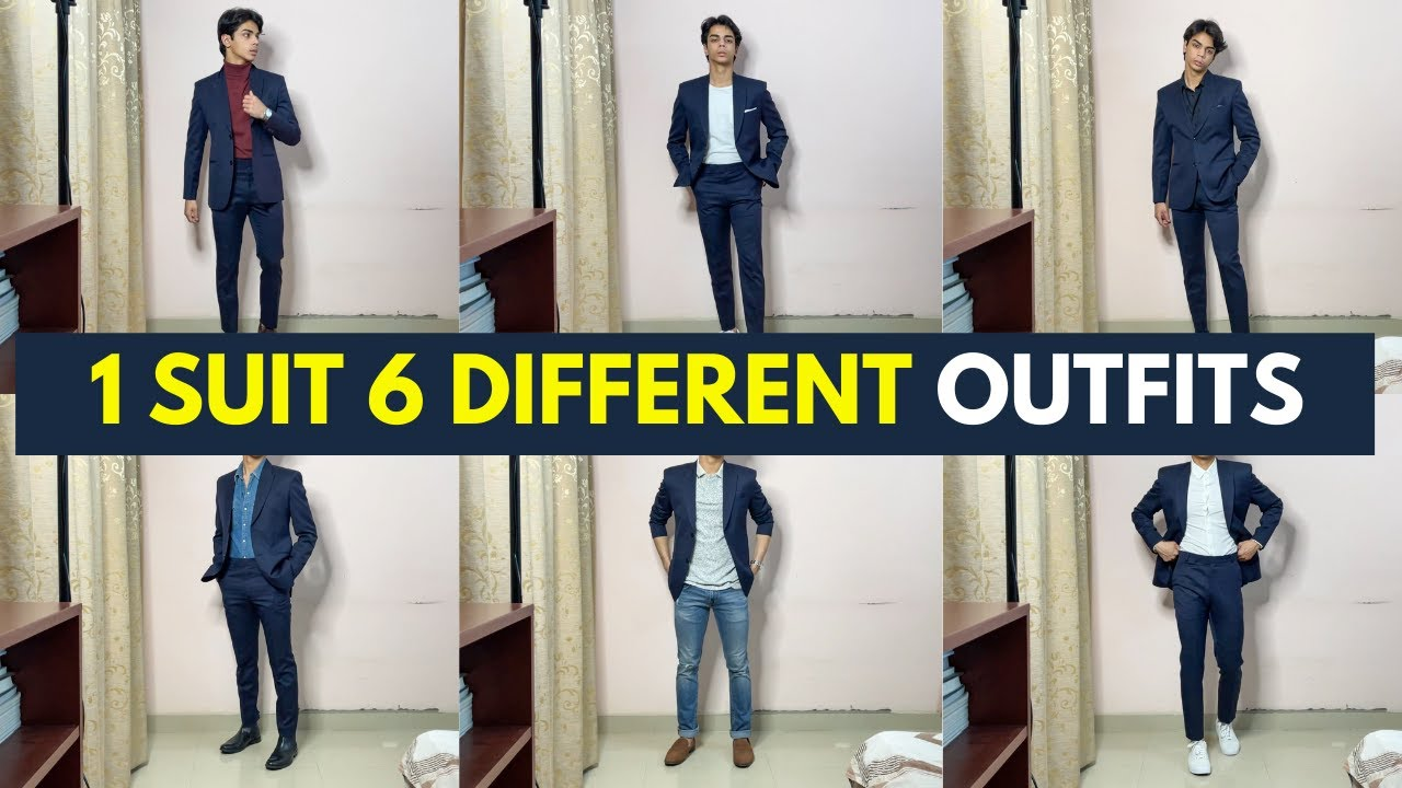 How To Wear A Suit In Different Ways | Outfit Ideas | Men's Fashion 2021