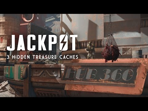 Jackpot - The 3 Secret DIA Caches - Hub 360, Medford Memorial Hospital, & Pinnacle Highrise