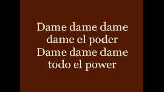 Gimme the Power- Molotov (con letra)