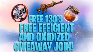 FORTNITE LIVE STW GIVEAWAY - 2X 130'S - EFFICIENT, SUNBEAM,OXI AND TRADING