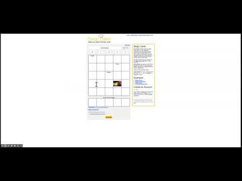 Free, Printable Bingo Cards By Bingo Baker