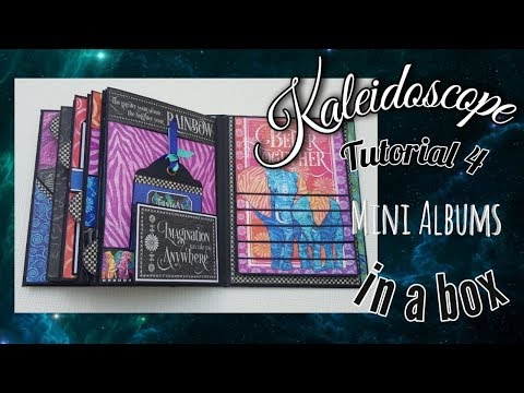 Tutorial #4  Kaleidoscope Graphic 45 Albums In A Box