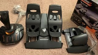 Thrustmaster t16000m fcs how to mount customize and adjust guide