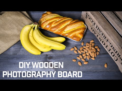 HOW TO // DIY Wooden Photography Board