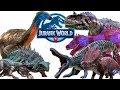 Jurassic World Alive Новые динозавры и Гибриды более 100 видов. Великая Охота.