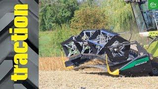 Geringhoff TruFlex 40 Razor Air in der traction Arbeitsprobe