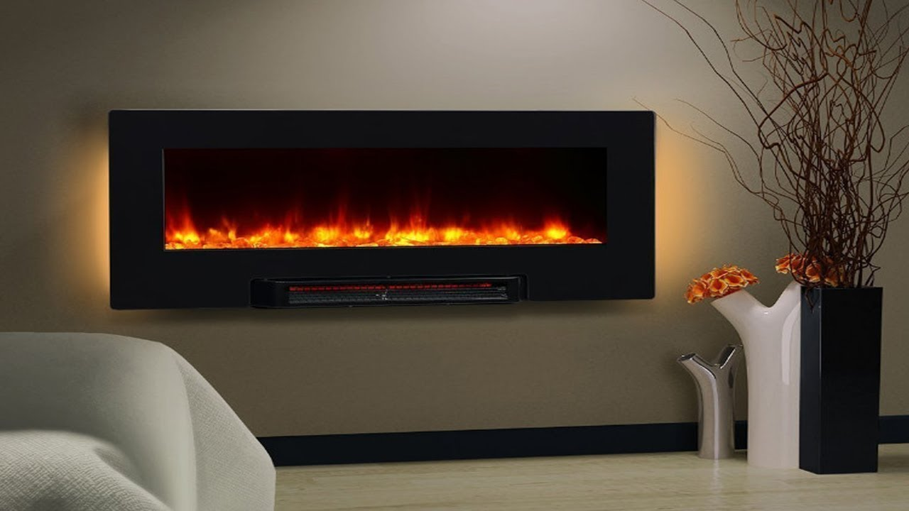 Wall Mount Fireplace Heaters Puraflame Wall Mounted Flat Panel Fireplace Heater Review
