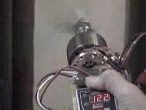 Powerful hand made brushless motor youtube for Most powerful brushless motor