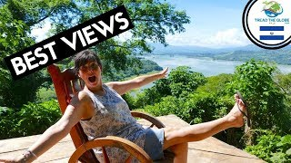 Arriving in Suchitoto  (2019)  Restaurant with the best views - Backpacking El Salvador