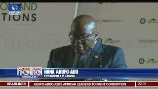 Ghanaian President Tasks African Leaders On Good Governance 27/08/18 Pt.1   News@10  