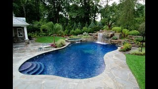 Beautiful Swimming Pool Landscaping Design Ideas