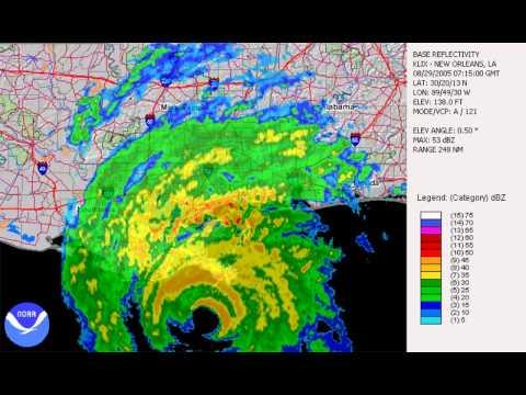 Hurricane hits the Louisiana coast