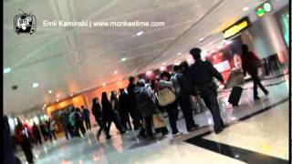 Fight at the Taoyuan International Airport