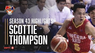 PBA 2018 Highlights: Scottie Thompson