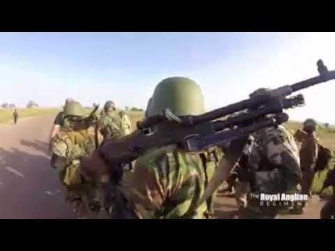 WATCH BRITISH SOLDIERS TRAINING NA IN JAJI, ZAIRA KADUNA STATE.